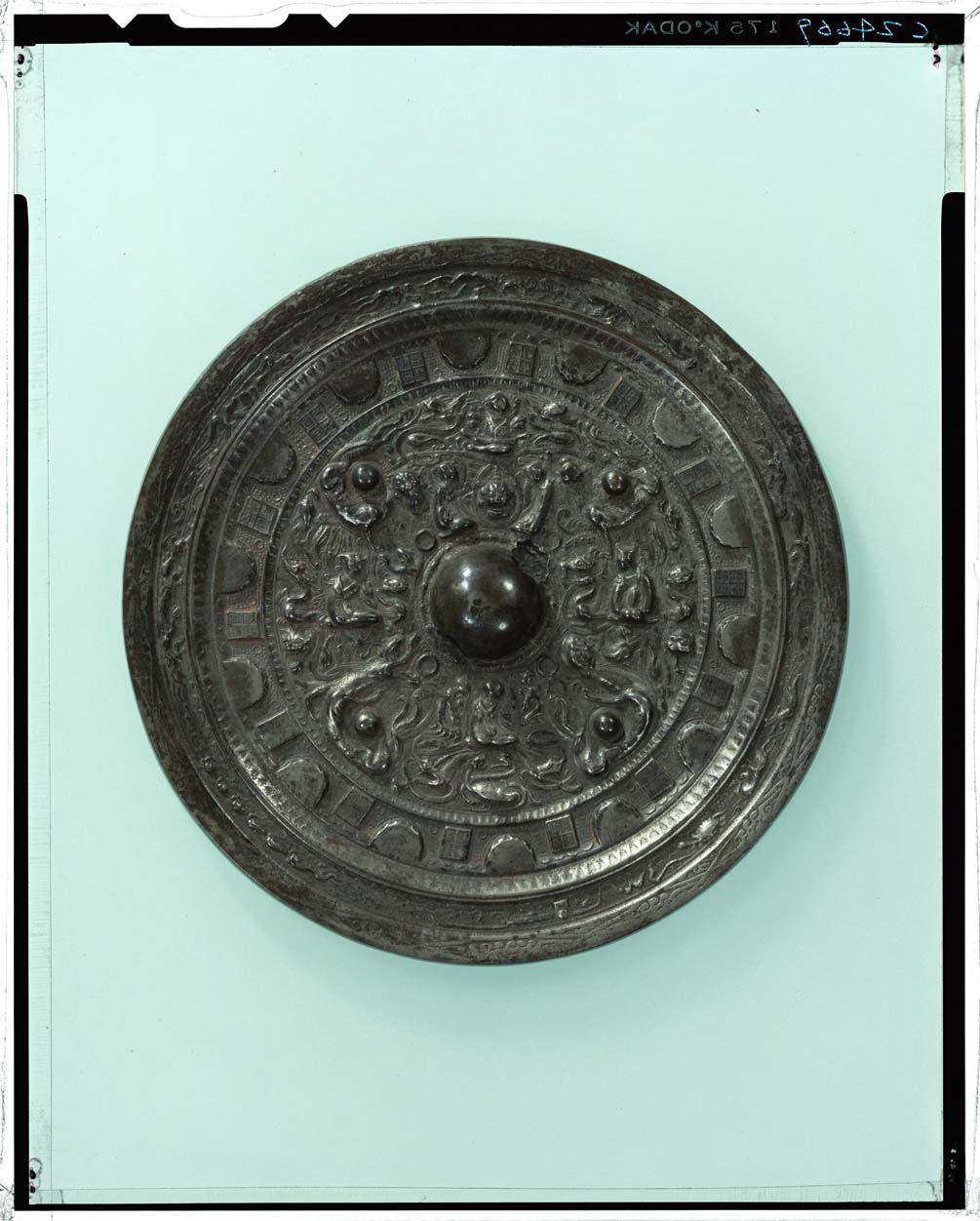 C0024669 同向式神獣鏡 - 東京国立博物館 画像検索